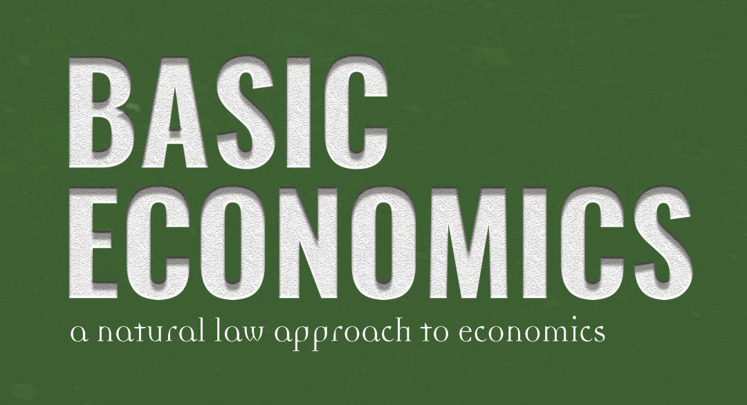 Basic Economics (Teacher's Guide)