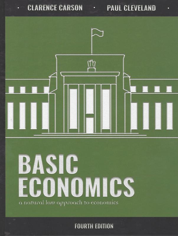 Cover of Basic Economics, 4th edition
