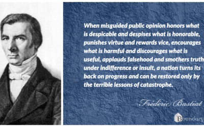 Bastiat Quote: Public Opinion That Leads to Catastrophe