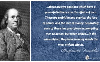 Benjamin Franklin: Power and Money