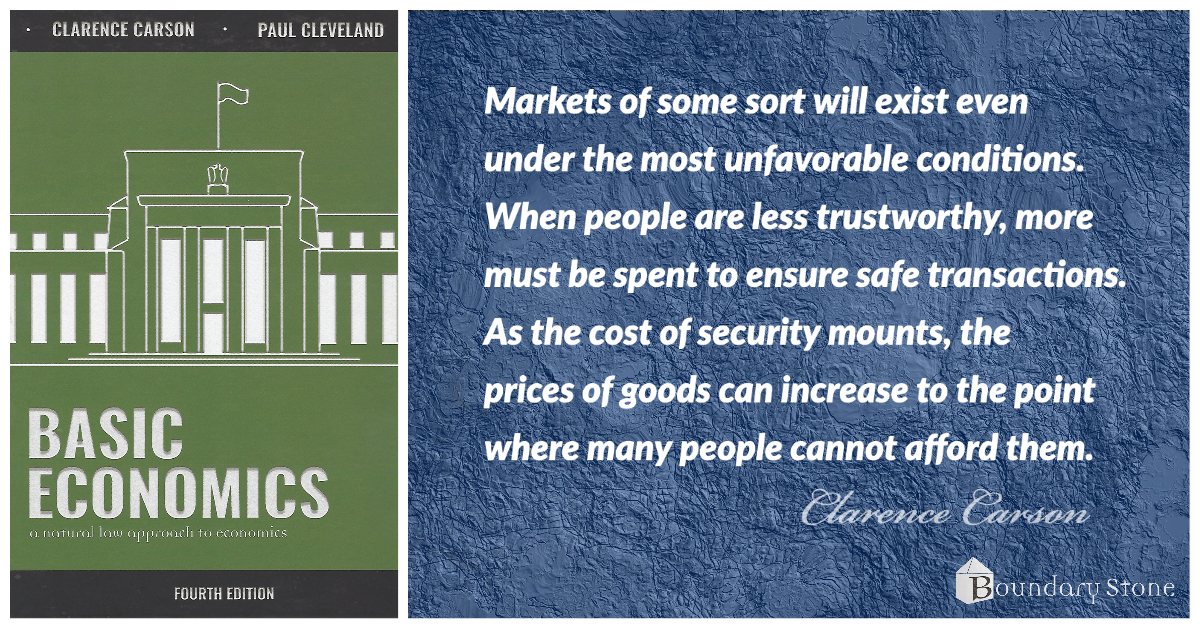 Carson Markets and Morality