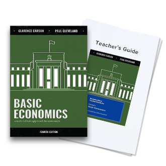 Economics Textbook + TG Bundle image