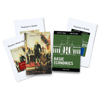 Gov-Econ Combo Textbook + Teacher's Guide Bundle