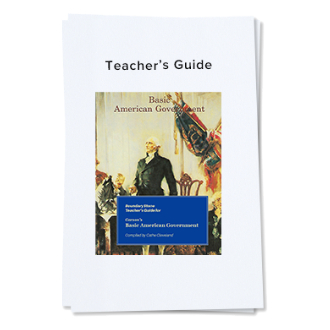 Government Teacher's Guide Cover image