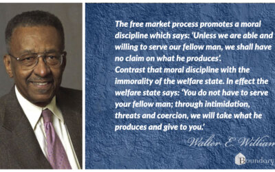 Walter Williams Moral Discipline